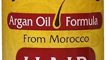 Salon Pro Hair Food Argan Oil Formula 4oz