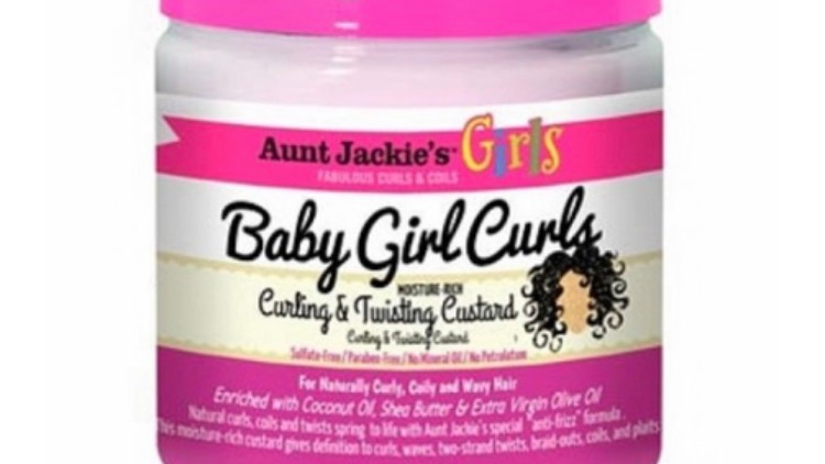 Aunt Jackie's Girls Baby Girl Curls Curling Twisting Custard 15 oz