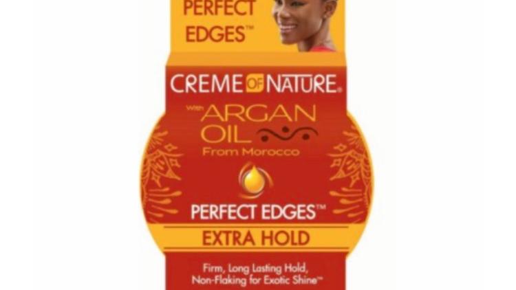 Creme Of Nature Argan Oil Edge Control Hair Gel Extra Hold 2.25oz