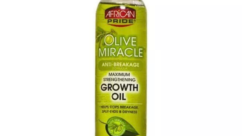 African Pride Olive Miracle Anti-Breakage Formula Maximum Strengthening Growth O