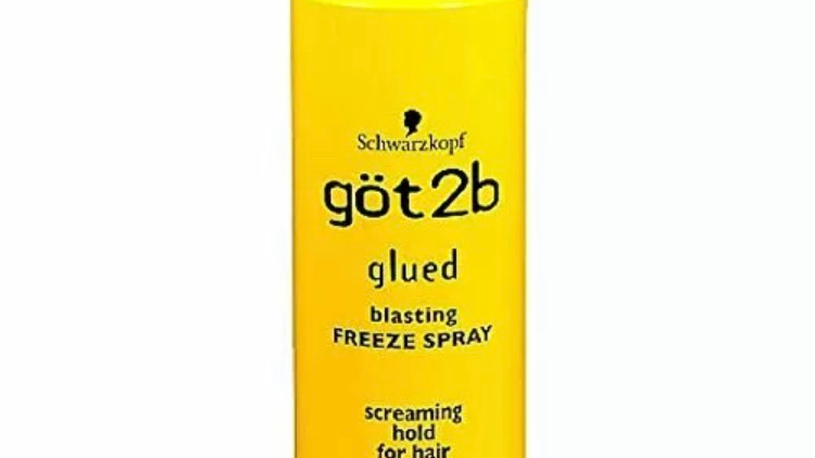 got2B Schwarzkopf Glued Blasting Freeze Hair Spray - 12oz