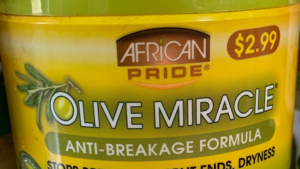 african pride olive miracle anti breakage formula, 3.5oz
