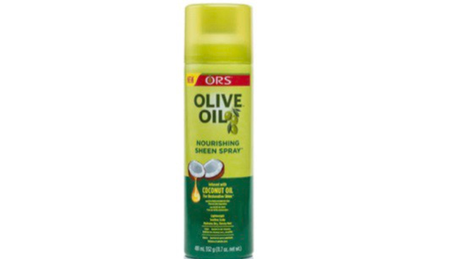 Olive oil oil sheen