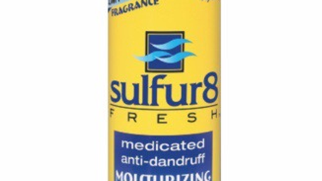 Sulfur 8 Fresh Moisturizing Oil Hair Lotion 12 oz