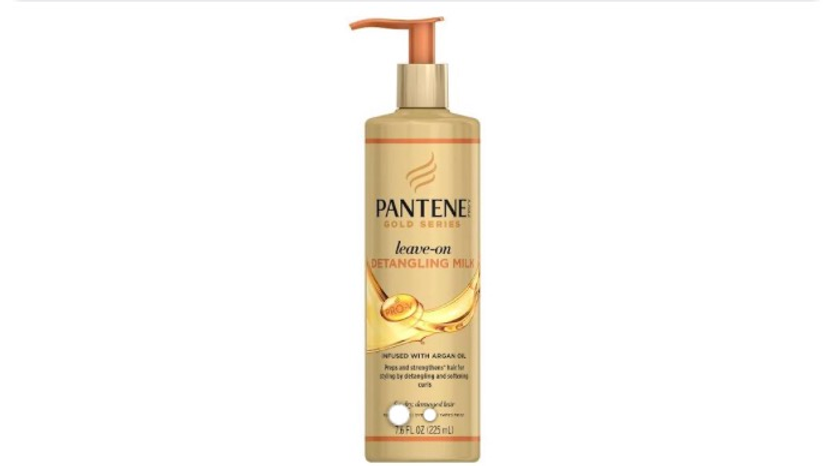 Pantene Pro-V Gold Series Leave-On Detangling Milk 7.6 fl. oz. Pump