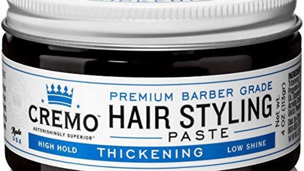 Cremo Premium Barber Grade Hair Styling Thickening Paste, 4 oz