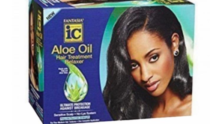 Fantasia IC Aloe Oil Hair Treatment Relaxer Regular