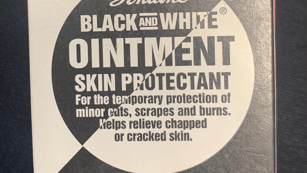 Genuine Black and White Ointment 5/8 oz.