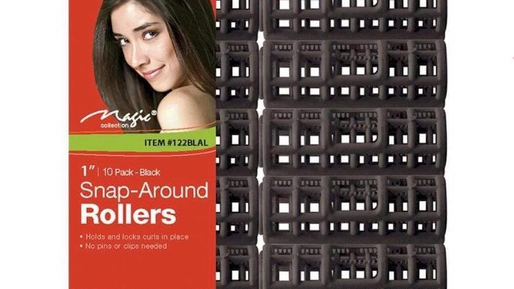 MAGIC | Snap-Around Roller Black - LARGE #122BLAL