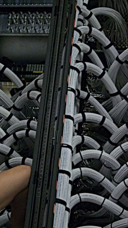 Ethernet rack cabling done correctly