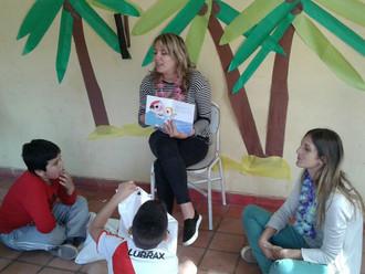 El diario La Nación presente en Casa de Galilea