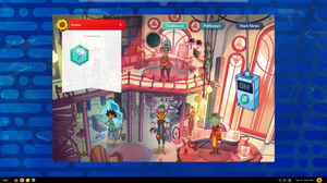 This is an image of the Hack clubhouse with the Achievements banner