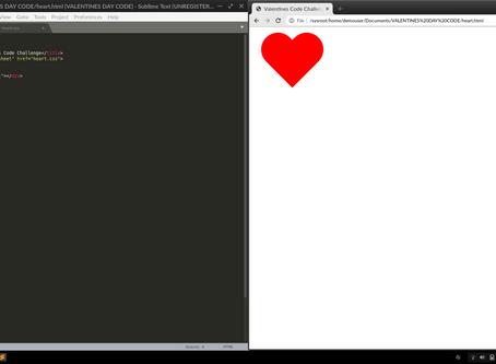 Hack Valentine's Day Activity