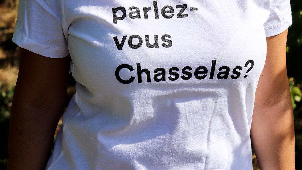 Tee-Shirt Femme Parlez-vous Chasselas?