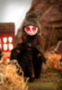 Lisa Albizzati,Krampus, stop motion puppet