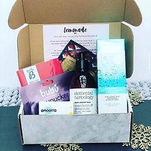 pyjama drama box lemonade box self-care