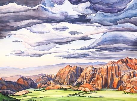 Snow Canyon Sky