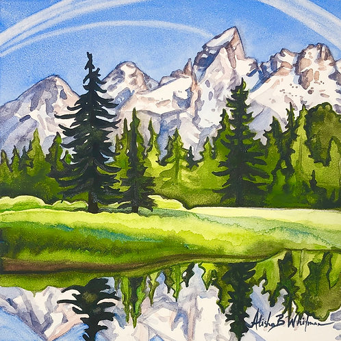 Grand Tetons - Limited Edition Print (1 of 10 only)