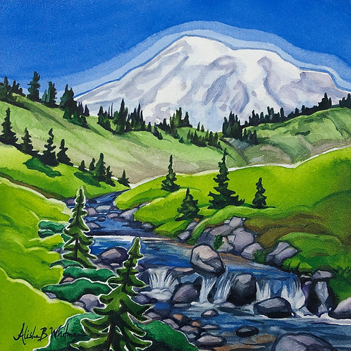 Mt. Rainier - Limited Edition Print (1 of 10 only)