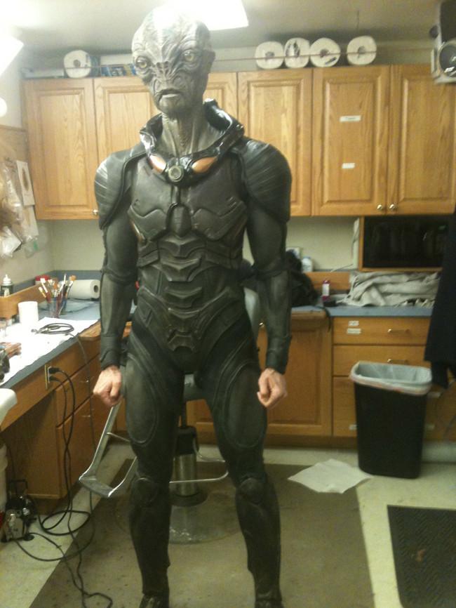 Key Costume FX. Cochise: MastersFX, Falling Skies