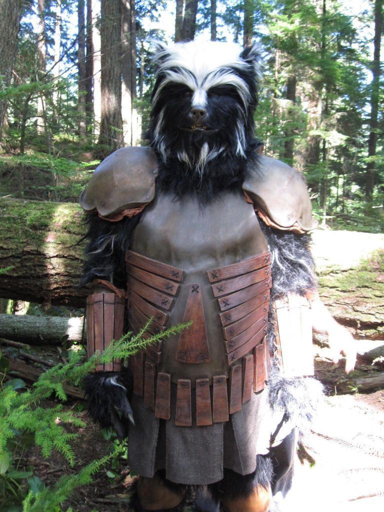 Key Costume Effects. Skunkbear - MastersFX