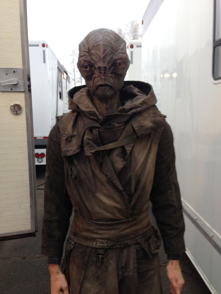 Season 2 costume for Cochise. & Co. Falling Skies