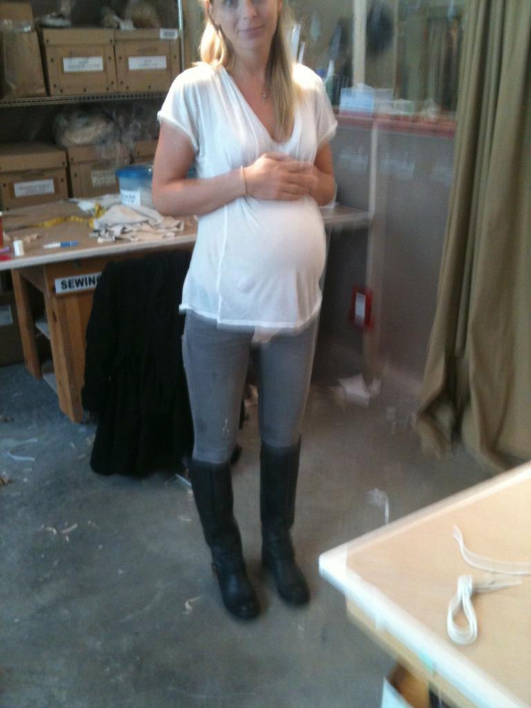 Pregnant belly corset