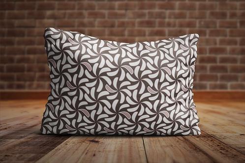 Handgemaakte kussens met een print van Hilde Sannen