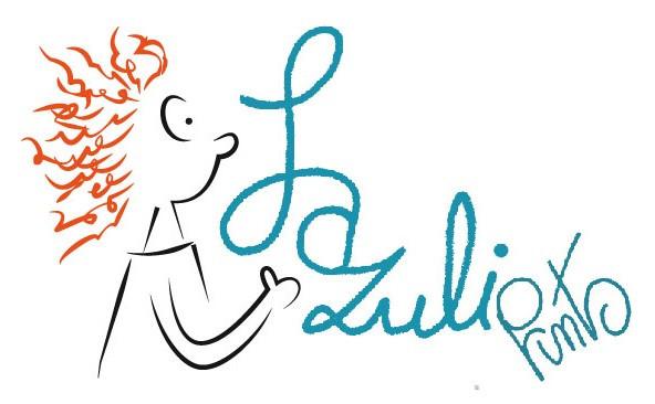 Potlood, een tekenapp op mijn tablet, computerbewerking en tadaaaa het logo van Lazuli Prints!