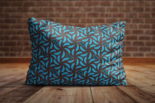 Alle kussens van Lazuli Prints zijn handgemaakt en zijn een ontwerp van Hilde Sannen