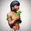 Yanomami resin bust modellismo planet earth series scientificmodels.shop