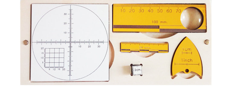 Earth Sciences & Geology  Ruler Kit