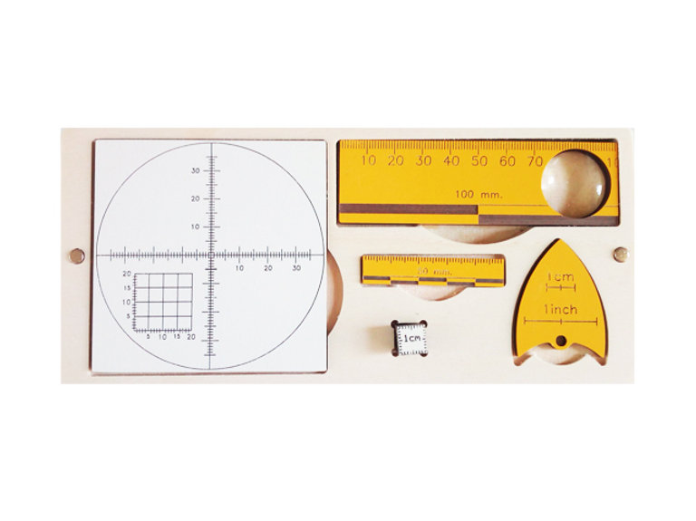 Earth Sciences & Geology Ruler Kit