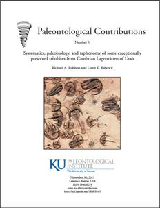 Weeks trilobite publication