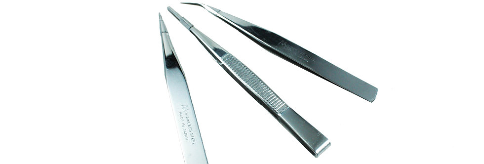 KIT ANEX Stainless Steel Tweezers no.125 A