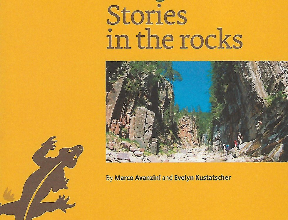 The Bletterbach canyon Stories in the rocks fron cover