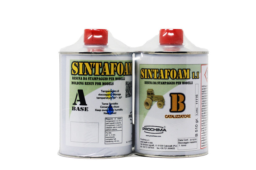 Sintofoam 1:1 Prochima Scientificmodels.shop resina per stampaggio modelli