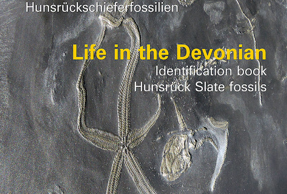Life in Devonian hunsruck slate fossil bed