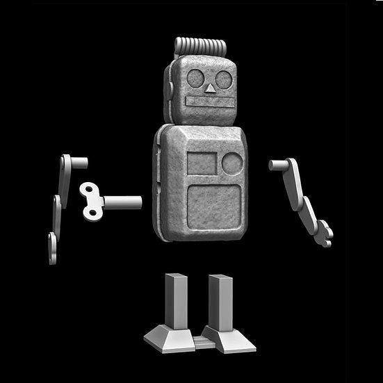 resin model Robot vintage in vendita modellismo
