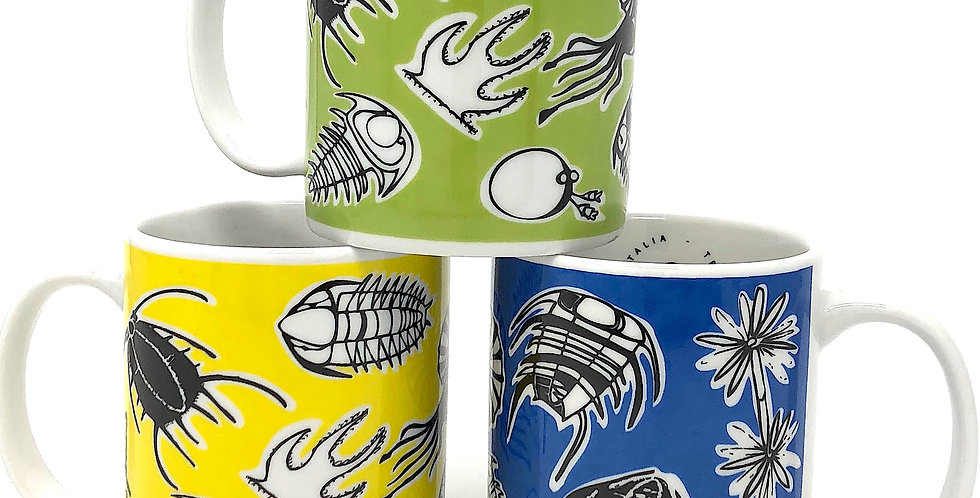 Complete SET Trilobite Coffee Mug