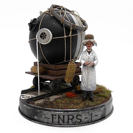 FNRS1 Sfera Pressurizzata Auguste Piccard modello resina 1:35