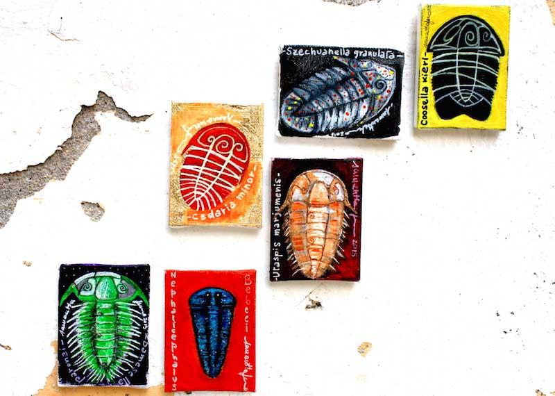 Samantha Fermo trilobites art 5