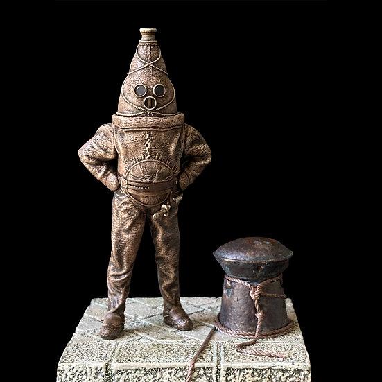 The Old Gentleman of Raahe resin model figurino storico scientificmodels.shop