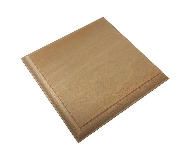 Basetta in rovere legno per modellismo