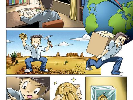 How to Explain Complex Ideas? Comics Help Paleontology