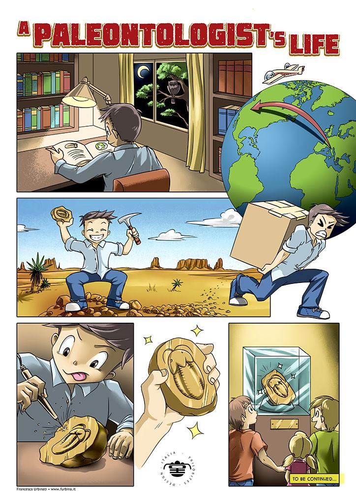 a paleontologist's life comics