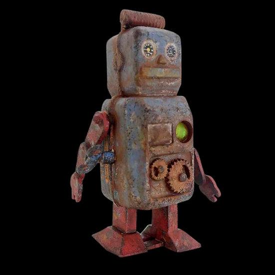resin model Robot vintage in vendita modellismo scientificmodels.shop