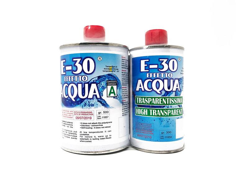 E-30 resina effetto acqua per modellismo prochima