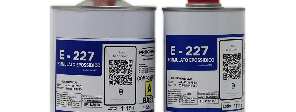 Epoxy Resin Prochima E227 for fossil preparation