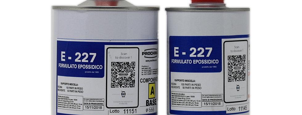 Epoxy Resin Prochima E227 for fossil preparation